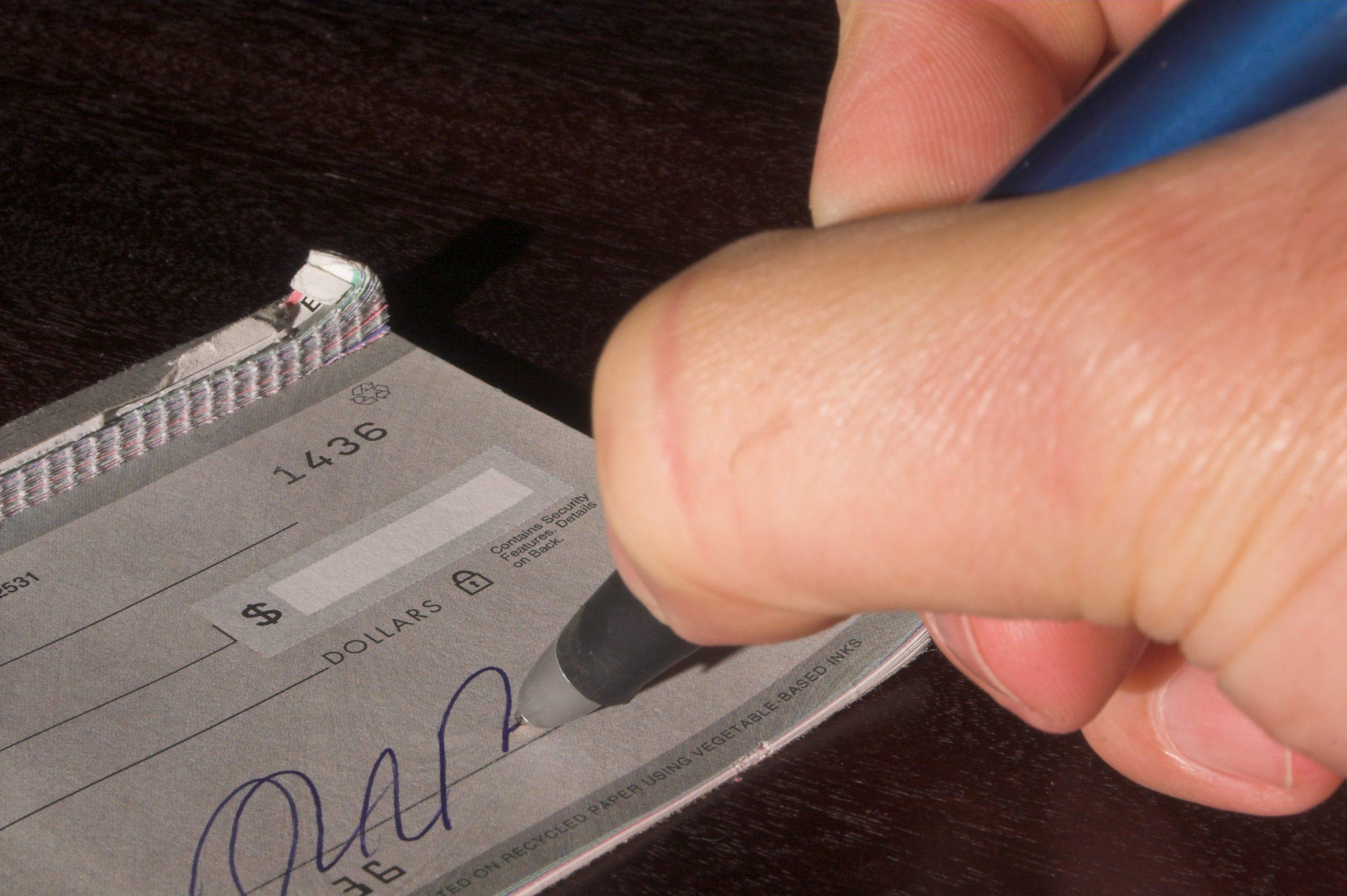 preventing check fraud