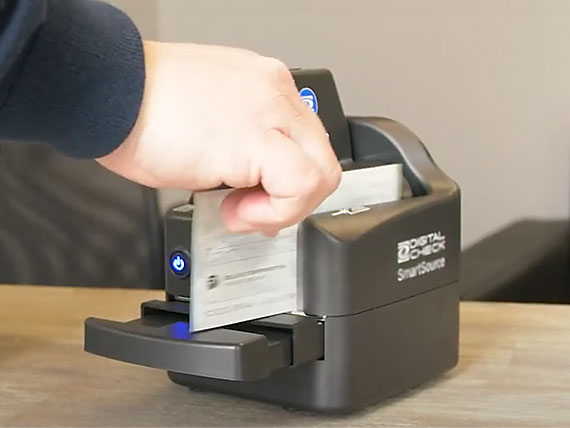 Business using Remote Check Scanner